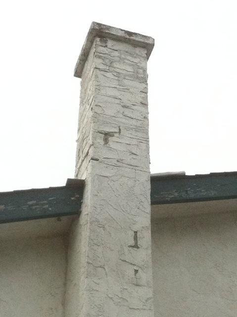 Stucco Chimney Image